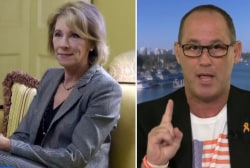 Betsy DeVos wants to use taxpayer money to put guns in classrooms