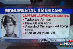 #MonumentalAmerican: the 1st identified missing Tuskegee Airman