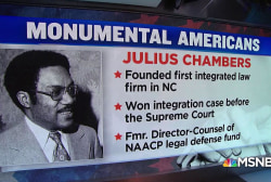 #MonumentalAmerican: Civil rights lawyer Julius Chambers
