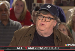 Michael Moore on why he'd prefer Pence to Trump