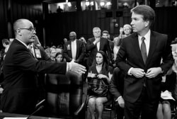 Parkland victim's father: Kavanaugh turned away when I brought up my daughter