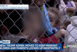 Trump trying to change rule for indefinite jailing of children
