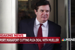 Jailed Paul Manafort reportedly cutting Mueller deal