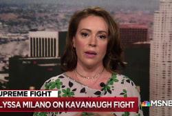 Alyssa Milano: Trump is defying the American majority