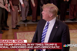 Scathing: Senior Trump admin. official reveals secret resistance