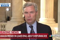 Dem. Senator warns: Trump SCOTUS pick open to gutting Roe v. Wade