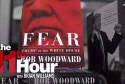Woodward stands by his accounts of chaos inside Trump White House