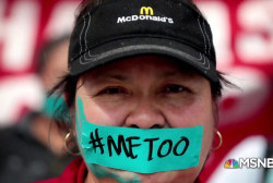 #BIGPICTURE: McDonald's workers protesting sexual harassment