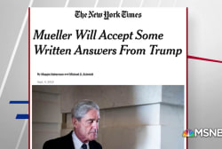 NYT: Mueller will accept some written answers from Trump