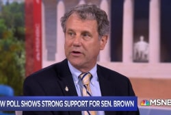 Sen. Brown on Ohio Senate race: I fight for people