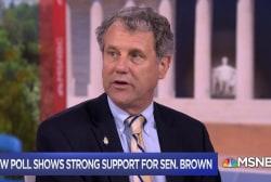 Sen. Brown on Ohio Senate race: I fight for people