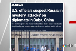 US officials suspect Russia in attack on diplomats in Cuba