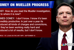 Comey on Mueller probe: It's been incredibly productive
