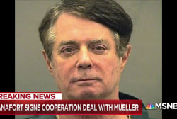 What is Paul Manafort telling Robert Mueller?