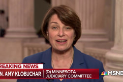 Sen. Amy Klobuchar: Kavanaugh has 'very expansive' view of executive power