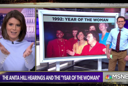 Anita Hill hearings led to 'Year of the Woman'
