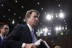 Kavanaugh accuser will tell her story publicly