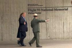 Trump's 9/11 lies and behavior in Shanksville