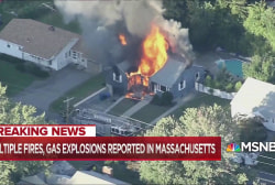 Gas explosions shatter multiple Massachusetts communities