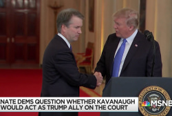 GOP carries Kavanaugh weight to protect legally precarious Trump