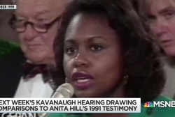 Accusation against Kavanaugh resonates with Anita Hill's example