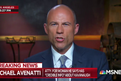 Avenatti: Kavanaugh accuser client may pursue criminal case
