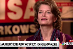 Murkowski gets local pressure to vote against Kavanaugh