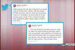 Trump tweets make life harder for GOP candidates