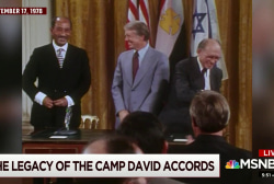 The legacy of the Camp David Accords