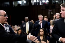 Does Kavanaugh owe Parkland father an apology?