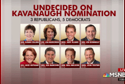 Undecided senators have chance to 'write a new chapter'