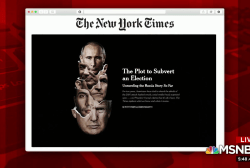NYT uncovers 'The Plot to Subvert an Election'