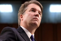 Kavanaugh accuser willing to testify