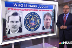 Who is Brett Kavanaugh's friend, Mark Judge?