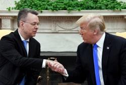 Freed Pastor Brunson thanks President Trump