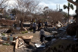 Florida Panhandle works to recover from Michael