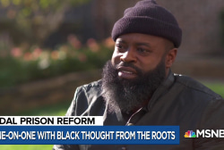The Roots' co-founder on the fight for criminal justice reform