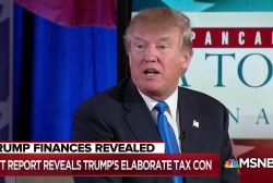 Trump tax bombshell shows 'it's hard out here for a con man'
