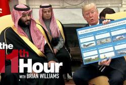 Are Trump's business ties affecting his handling of Saudi Arabia?