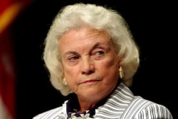 Sandra Day O'Connor diagnosed with dementia, retiring from public life