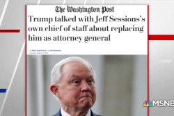 WaPo: Trump talked with Sessions chief of staff about replacing AG