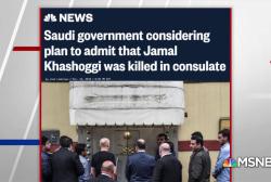 Saudi govt considering plan to admit Khashoggi killed in consulate