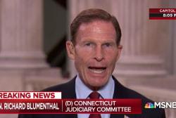 "Sen. Blumenthal: FBI's Kavanaugh report is a ""cover-up"""