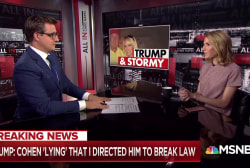 """Trump accuses Michael Cohen of """"lying"""" under oath"""