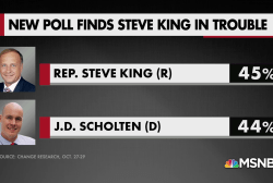 Could white nationalist Congressman Steve King lose?