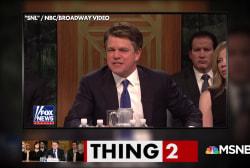 Kavanaugh hearing gets the SNL treatment