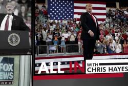 Trump TV stops airing every single Trump rally