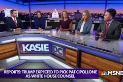 White House eyes new White House counsel as McGahn exits