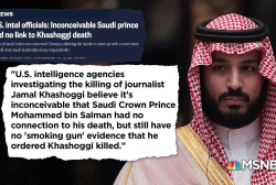 E.J. Dionne: It's as if you had public and private negotiations between Trump, Saudis