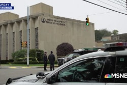 Mourning and decrying the Pittsburgh synagogue massacre